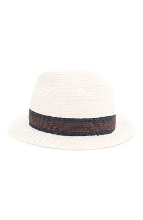 Мужская шляпа fedora ERMENEGILDO ZEGNA белого цвета, арт. Z7I21/B7Q | Фото 2