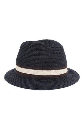 Мужская шляпа fedora ERMENEGILDO ZEGNA синего цвета, арт. Z7I21/B7Q | Фото 1