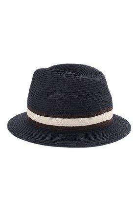 Мужская шляпа fedora ERMENEGILDO ZEGNA синего цвета, арт. Z7I21/B7Q | Фото 2
