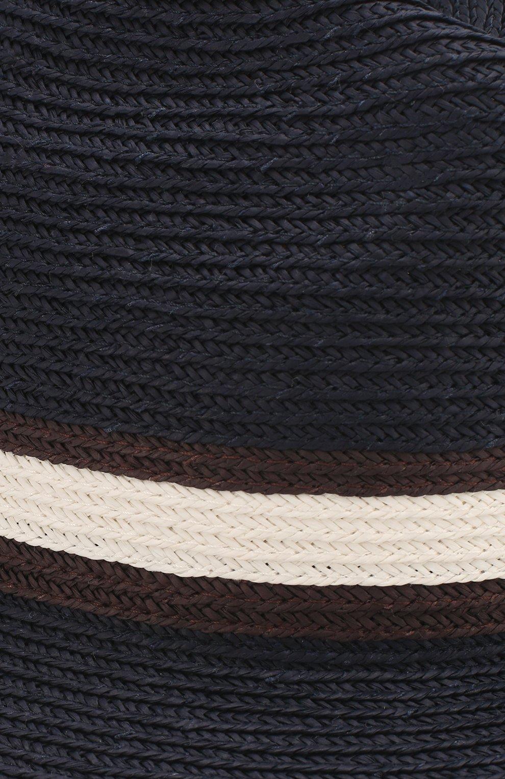 Мужская шляпа fedora ERMENEGILDO ZEGNA синего цвета, арт. Z7I21/B7Q | Фото 3