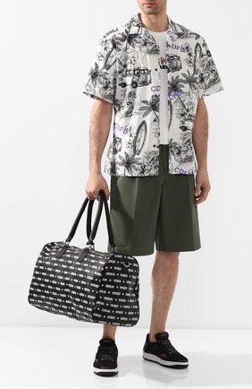 Мужская дорожная сумка COMME DES FUCKDOWN черного цвета, арт. CDFA09ALLN | Фото 2