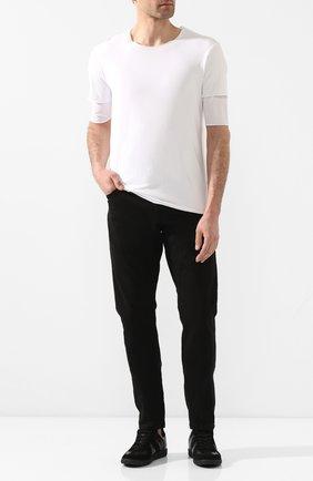 Мужские джинсы ANDREA YA'AQOV черного цвета, арт. 20MDEN35 | Фото 2