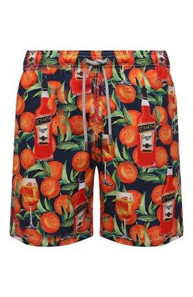 Детского плавки-шорты MC2 SAINT BARTH оранжевого цвета, арт. STBM GUSTAVIA/GUS0001 | Фото 1