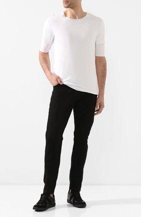Мужская хлопковая футболка KAZUYUKI KUMAGAI белого цвета, арт. AJ01-216 | Фото 2