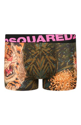 Мужские хлопковые боксеры DSQUARED2 разноцветного цвета, арт. D9LC63080 | Фото 1
