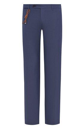 Мужской шерстяные брюки BERWICH темно-синего цвета, арт. SC/1 ALC/MZ1635 | Фото 1