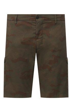 Мужские хлопковые шорты BERWICH темно-коричневого цвета, арт. BER_MUDA CARG0/CV0193X | Фото 1