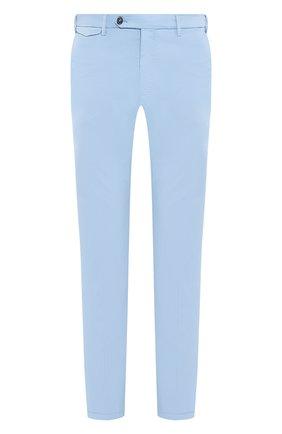Мужской хлопковые брюки BERWICH голубого цвета, арт. VULCAN0/MX011X | Фото 1