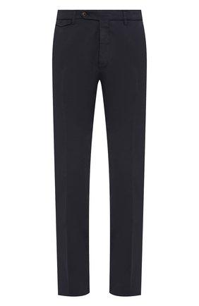 Мужской хлопковые брюки BERWICH темно-синего цвета, арт. VULCAN0/MX011X | Фото 1
