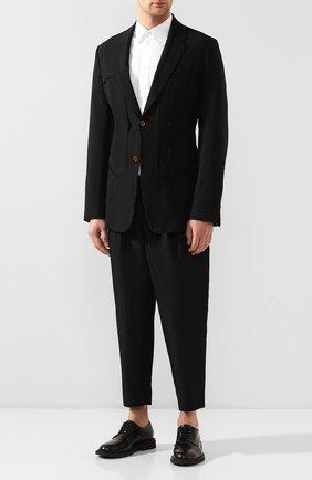 Мужской пиджак COMME DES GARCONS HOMME PLUS черного цвета, арт. PE-J055-051 | Фото 2