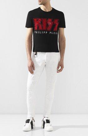 Мужские джинсы PHILIPP PLEIN белого цвета, арт. P20C MDT2088 PDE004N | Фото 2