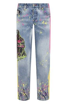 Мужские джинсы PHILIPP PLEIN голубого цвета, арт. P20C MDT2038 PDE004N | Фото 1