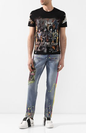 Мужские джинсы PHILIPP PLEIN голубого цвета, арт. P20C MDT2038 PDE004N | Фото 2