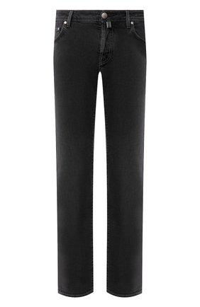 Мужские джинсы JACOB COHEN черного цвета, арт. J620 C0MF 00947-W1/53 | Фото 1