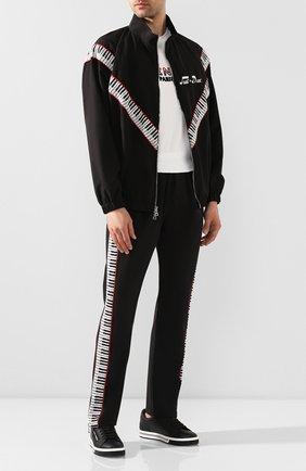 Мужской брюки JUST DON черного цвета, арт. BPKT_BLK | Фото 2