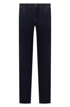 Мужские джинсы ZILLI темно-синего цвета, арт. MCT-ZS020-SP0RT/S001 | Фото 1