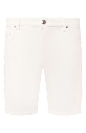 Мужские джинсовые шорты DON THE FULLER белого цвета, арт. DHS0/T0KY0/DTF/KA | Фото 1
