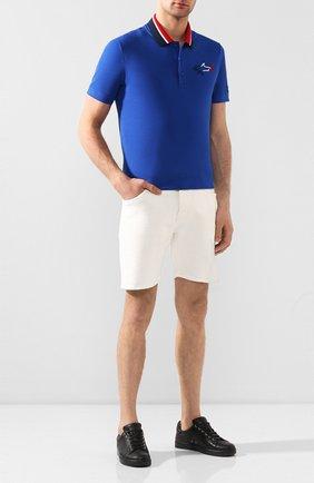 Мужские джинсовые шорты DON THE FULLER белого цвета, арт. DHS0/T0KY0/DTF/KA | Фото 2