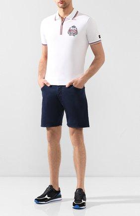Мужские джинсовые шорты DON THE FULLER темно-синего цвета, арт. DHS0/T0KY0/DTF/KA | Фото 2