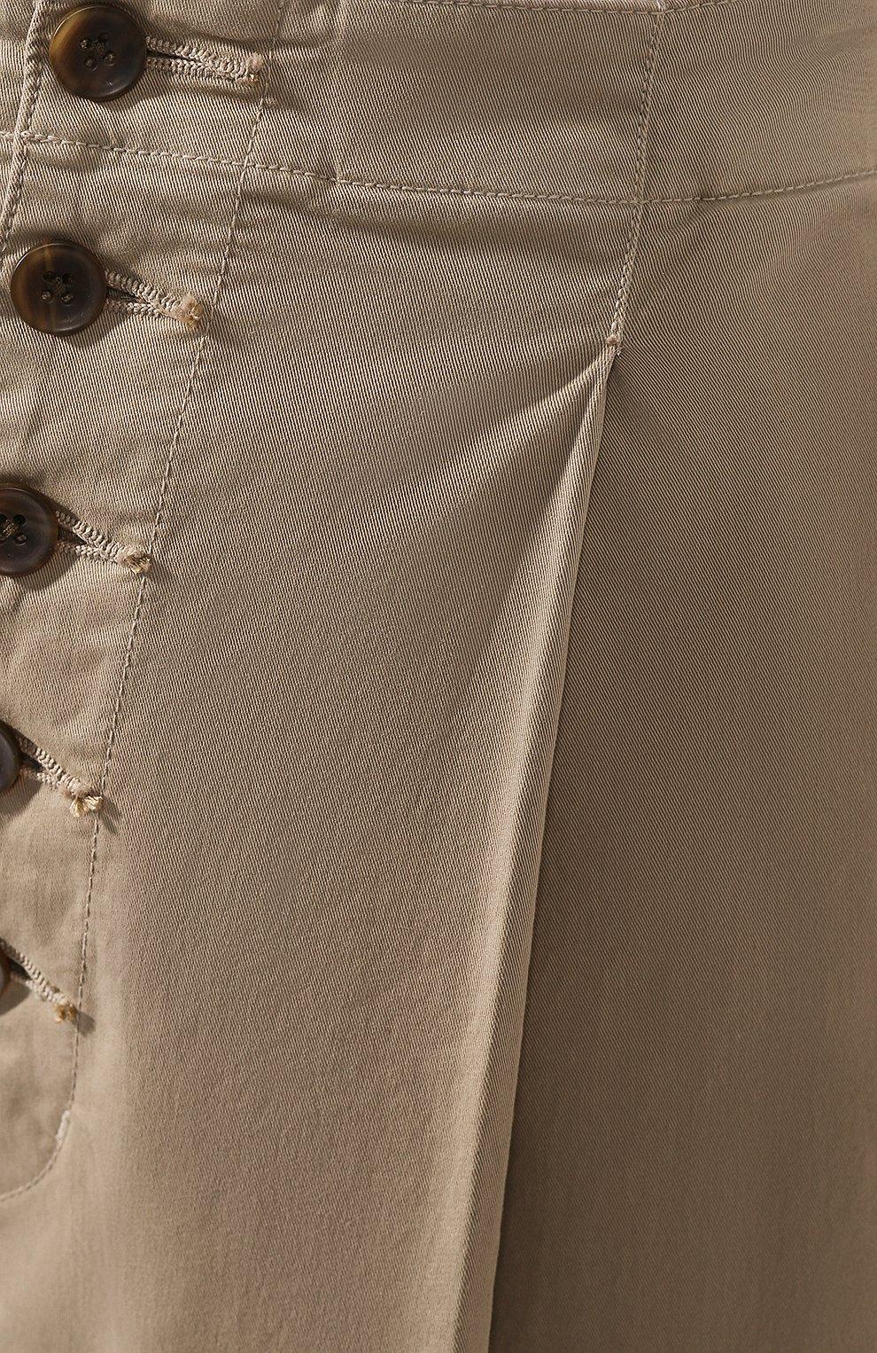 Женские хлопковые брюки J BRAND хаки цвета, арт. JB002859   Фото 5