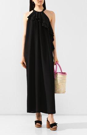 Женское шелковое платье NUDE черного цвета, арт. 1103760/DRESS | Фото 2