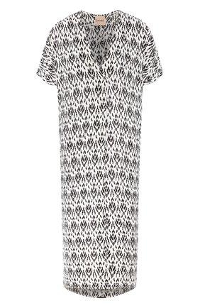 Женское шелковое платье NUDE черно-белого цвета, арт. 1103770/DRESS | Фото 1