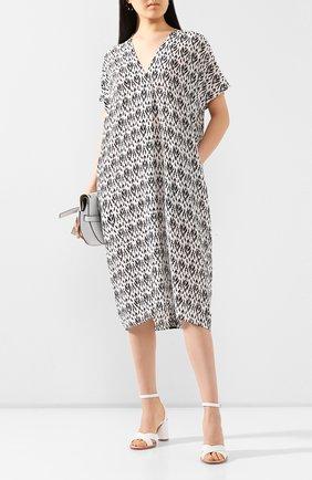 Женское шелковое платье NUDE черно-белого цвета, арт. 1103770/DRESS | Фото 2