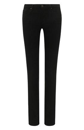 Женские джинсы AG черного цвета, арт. PSI1616/0PUB | Фото 1