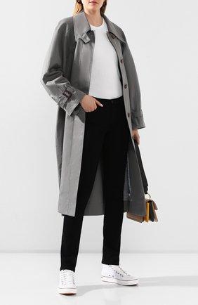 Женские джинсы AG черного цвета, арт. PSI1616/0PUB | Фото 2