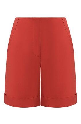 Женские хлопковые шорты LORENA ANTONIAZZI оранжевого цвета, арт. E2003PA098/3193 | Фото 1