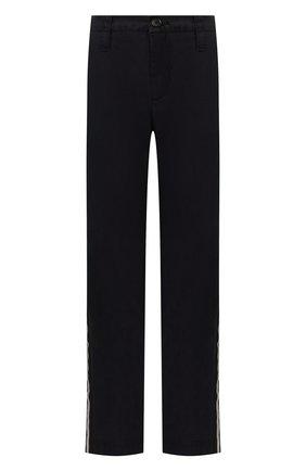 Женские хлопковые брюки ZADIG&VOLTAIRE черного цвета, арт. SJC00101F   Фото 1