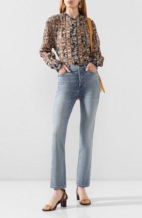 Женские джинсы RE/DONE голубого цвета, арт. 190-3WDNLL/HAZEY INDIG0 | Фото 2