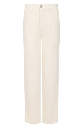 Женские джинсы RE/DONE белого цвета, арт. 360-6WWP/0FF WHITE | Фото 1
