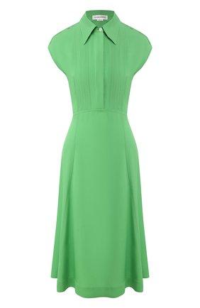 Женское платье из вискозы VICTORIA BECKHAM зеленого цвета, арт. 1220WDR001358A | Фото 1