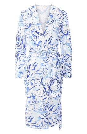Женское платье из вискозы ALEXANDER TEREKHOV голубого цвета, арт. D1287/4010.BS104S/DS20 | Фото 1