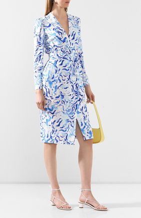 Женское платье из вискозы ALEXANDER TEREKHOV голубого цвета, арт. D1287/4010.BS104S/DS20 | Фото 2