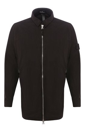 Мужская рубашка STONE ISLAND SHADOW PROJECT черного цвета, арт. 721910117 | Фото 1