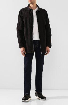 Мужская рубашка STONE ISLAND SHADOW PROJECT черного цвета, арт. 721910117 | Фото 2