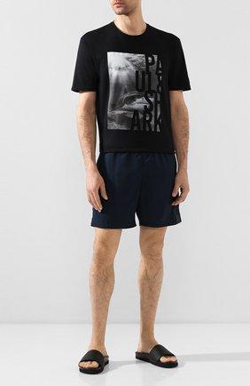 Детского плавки-шорты PAUL&SHARK темно-синего цвета, арт. E20P5043/3XL-6XL | Фото 2