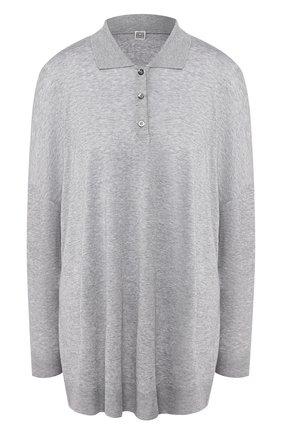 Женская пуловер TOTÊME серого цвета, арт. BARZI0 202-403-777 | Фото 1