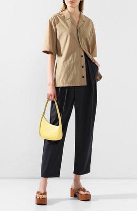 Женская рубашка LOW CLASSIC хаки цвета, арт. L0W20SS_SH06KK   Фото 2