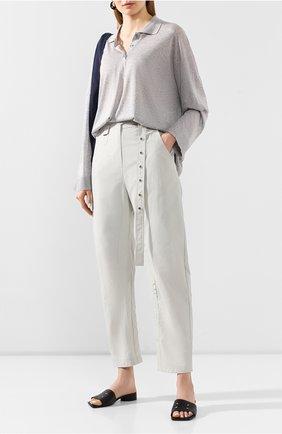 Женские брюки LOW CLASSIC светло-зеленого цвета, арт. L0W20SS_PT14MT | Фото 2