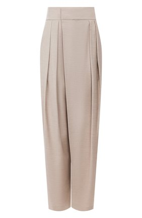 Женские брюки LOW CLASSIC бежевого цвета, арт. L0W20SS_PT07BE   Фото 1