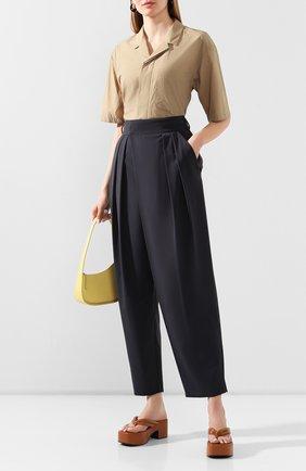 Женские брюки LOW CLASSIC серого цвета, арт. L0W20SS_PT06BG   Фото 2