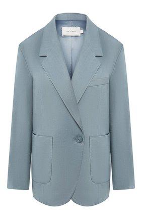 Женский жакет LOW CLASSIC голубого цвета, арт. L0W20SS_JK02BG | Фото 1