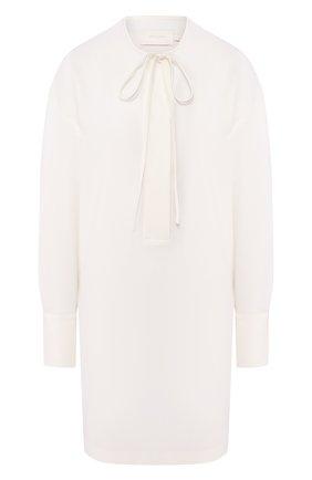 Женское платье LOW CLASSIC белого цвета, арт. L0W20SS_DR07IV | Фото 1