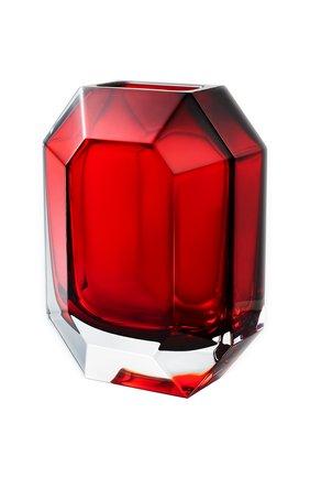 Мужского ваза octogone BACCARAT красного цвета, арт. 2 813 754 | Фото 1