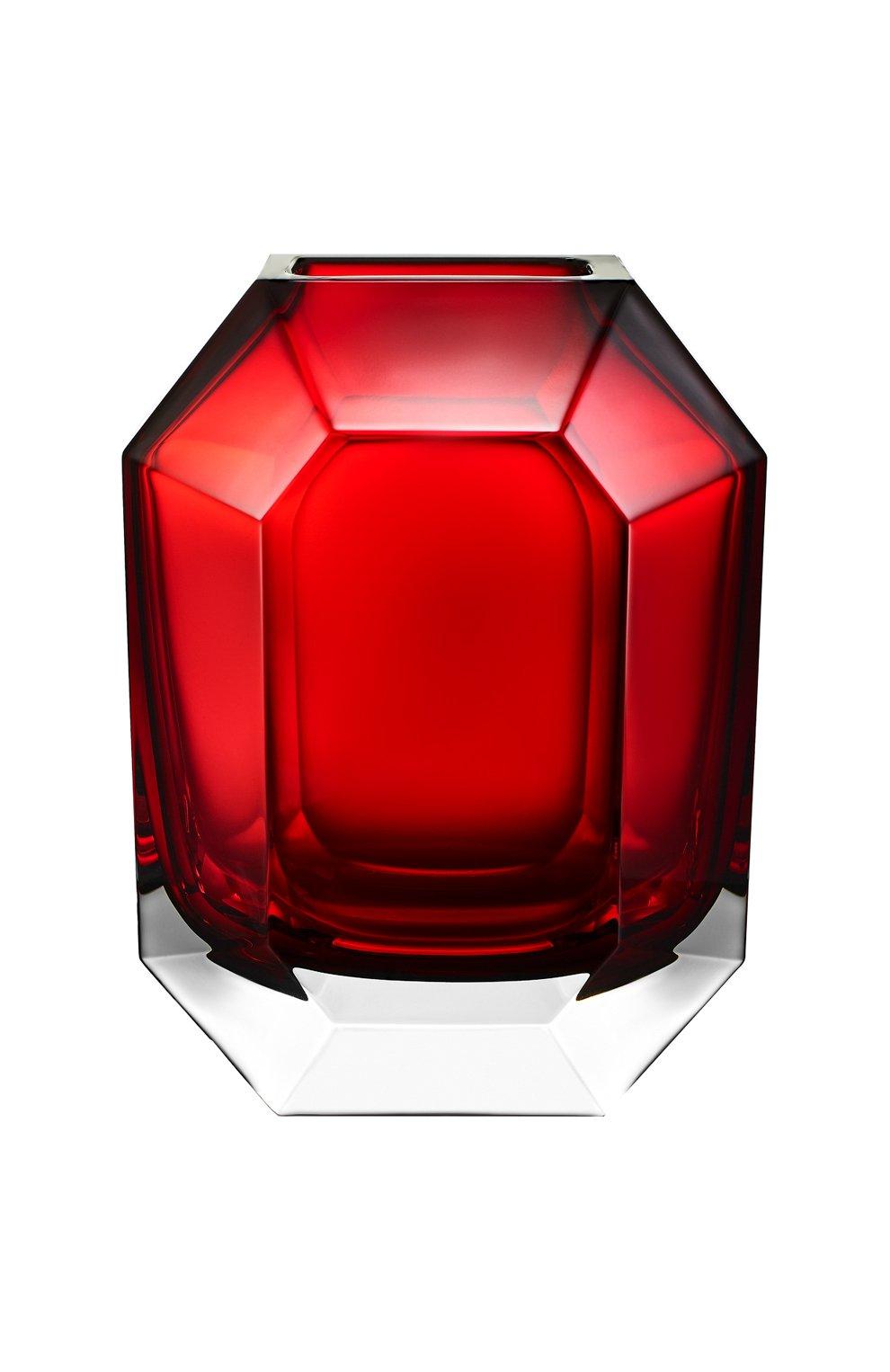 Мужская ваза octogone BACCARAT красного цвета, арт. 2 813 754   Фото 2