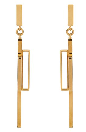 Женские серьги CRYSTALLINE JEWELLERY золотого цвета, арт. 360Y | Фото 1