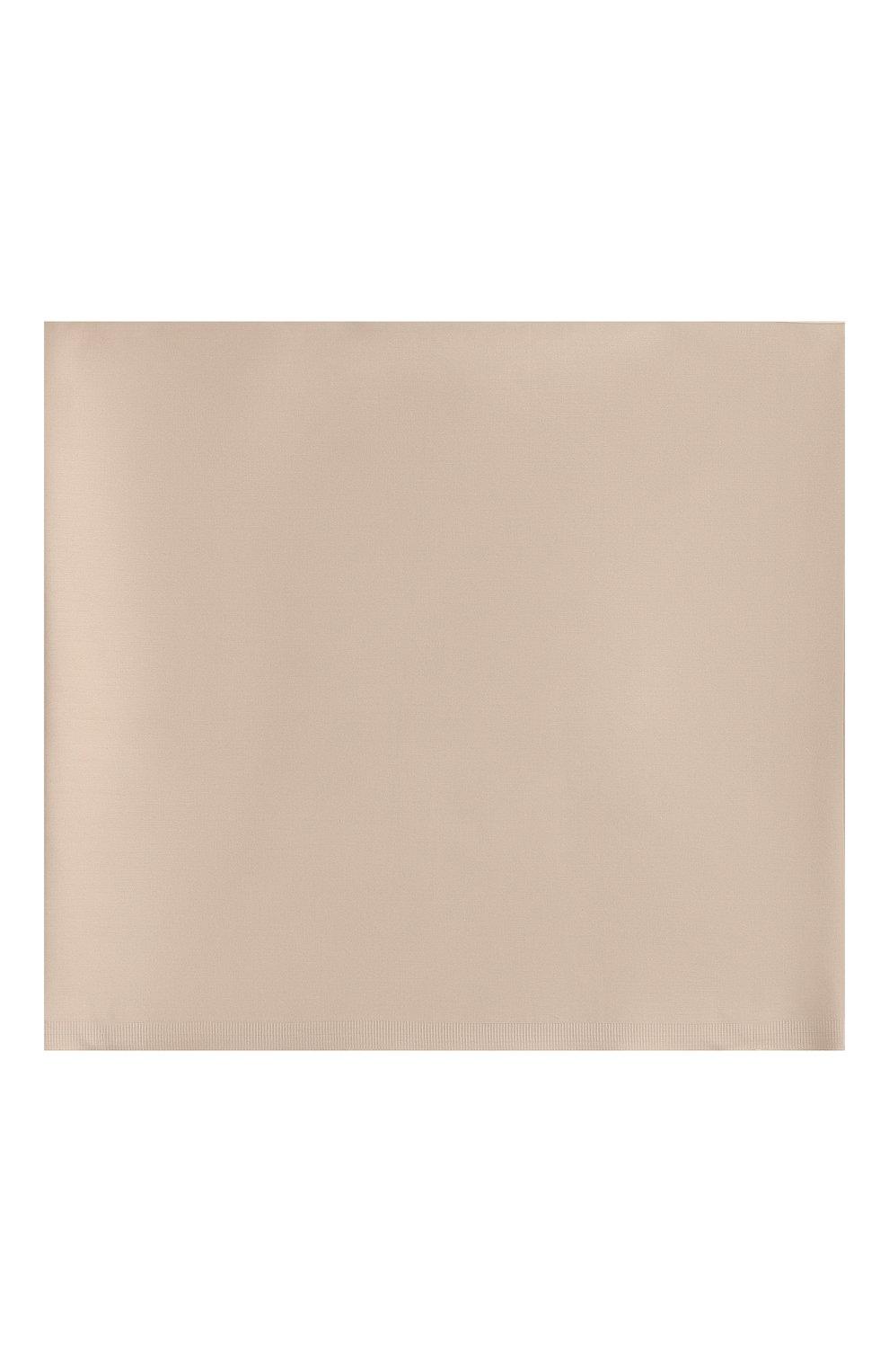 Мужского хлопковая простынь FRETTE бежевого цвета, арт. FR0000 E0400 270I | Фото 2